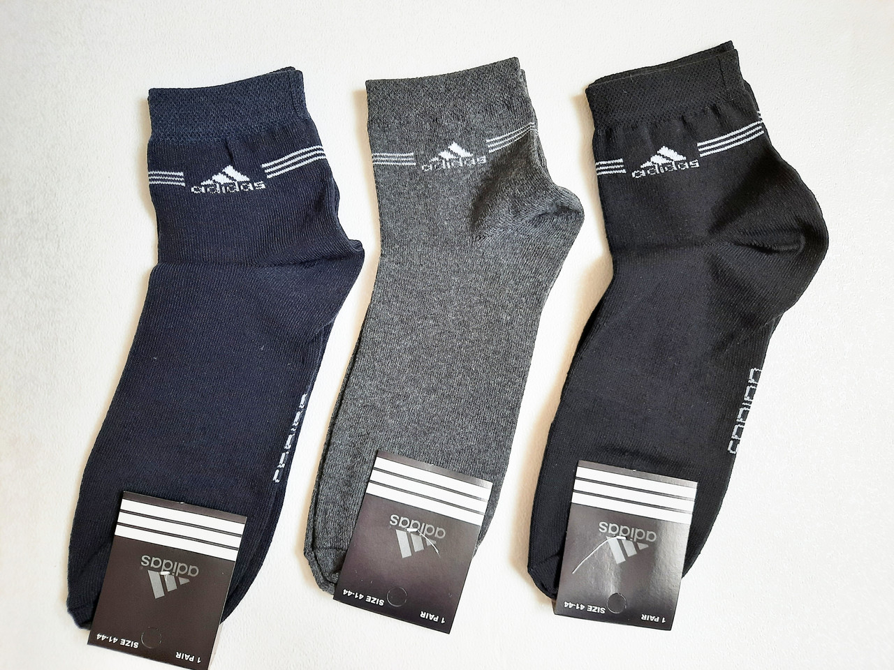 Носки мужские спортивные хлопок стрейч р.40-44.От 6 пар по 7,50грн.