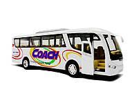 Автобус Coach металлический KS7101W, фото 3