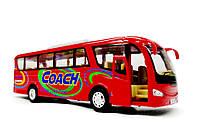 Автобус Coach металлический KS7101W, фото 4