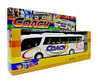 Автобус Coach металлический KS7101W, фото 2