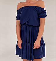 Женское стильное приталенное легкое платье, фото 1