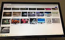 """Монитор FullHD 21,5"""" Acer V226HQL на запчасти дефект изображения"""