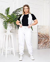 Женская стильная жилетка из эко-кожи, фото 1