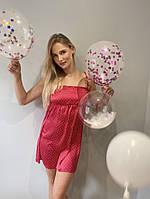 Жіноча нічна сорочка FOREX 369 LAURINE, атлас, фото 1