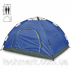 Палатка автоматическая D&T 2-х местная водонепроницаемая для кемпинга, рыбалки Синий
