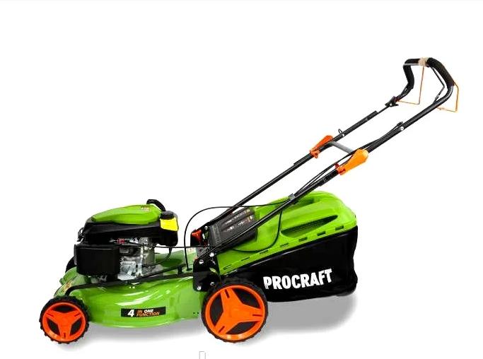 Газонокосилка бензиновая ProCraft PLM-505 (4-х тактная, мульчирование, моторизированный привод))