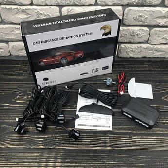 Парктронік Car Distance Detection System на 4 датчика задній паркувальний радар паркувальна система