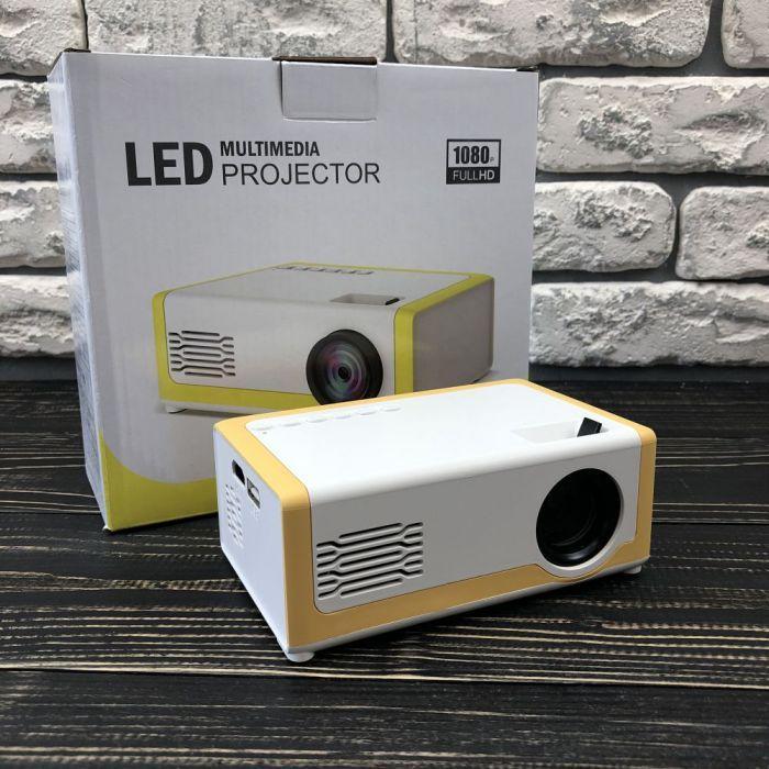 Портативний міні проектор M1 для будинку смартфона лід led кишеньковий проектор домашній домашнього кінотеатру