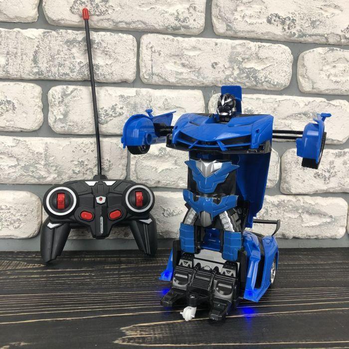 Дитяча іграшка робот Трансформер Lamborghini іграшкова машина на радіокеруванні на пульті для хлопчиків