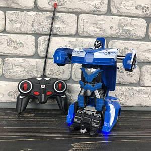 Детская игрушка робот Трансформер Bugatti Robot машина игрушечная на радиоуправлении на пульте для мальчиков