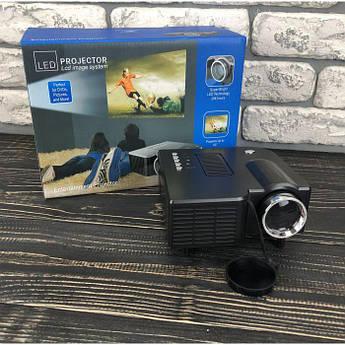 Портативний міні проектор UC28 для будинку смартфона лід led кишеньковий проектор домашній домашнього