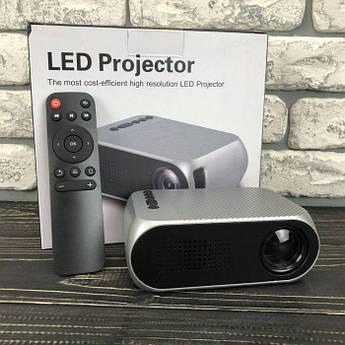 Портативний міні проектор YG320 для будинку смартфона лід led кишеньковий проектор домашній домашнього