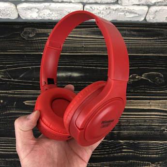 Бездротові bluetooth-навушники XB310BT Wireless накладні для телефону комп'ютера пк блютуз червоні