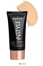 Тональный крем Topface Instyle Ideal Skin Tone SPF 15 № 003