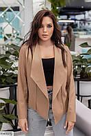 Молодежная кожная куртка-пиджак эко кожа р-ры 42-48 арт. м 1073