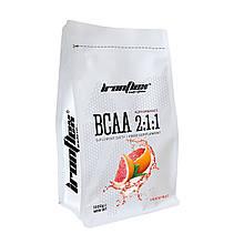 Аминокислоты IronFlex BCAA Performance 2-1-1 1000г Вкус : Апельсин