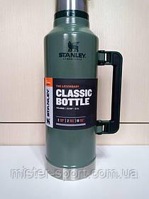 Лот №1, Термос STANLEY Classic Legendary 2.3 литра зелёный, состояние (4-) по пятибалльной шкале