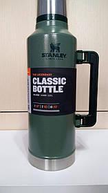 Лот №2, Термос STANLEY Classic Legendary 2.3 литра зелёный, состояние (5-) по пятибалльной шкале