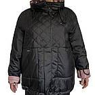 Куртка Жіноча Батальна Утеплювач Биопух. Розміри 54-60 ✅ Фабричний Китай, фото 7