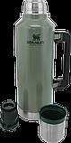 Лот №4, Термос STANLEY Classic Legendary 2.3 литра зелёный, состояние (5) по пятибалльной шкале, фото 4