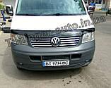 Дефлектор капота, мухобойка Volkswagen Transporter T5 2003-2010 (ANV), фото 2