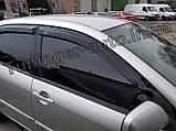 Дефлекторы окон, ветровики Toyota Corolla E120 2000-2007 (Hic), фото 2
