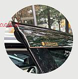 Дефлекторы окон, ветровики хромированные Peugeot 3008 2017- (Autoclover/6шт./E010), фото 4
