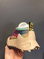 "Кросівки Off-White Odsy Pink Beige ""Бежеві/Різнобарвні"", фото 2"