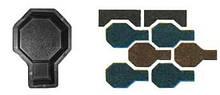 Форми для виробництва тротуарної плитки «Молоток – шагрень»