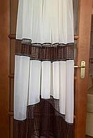 Тюль арка на окно 2.80м/1.70м купить tyulnadom