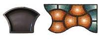 Форма для производства тротуарной плитки «Ракушка гладкая»