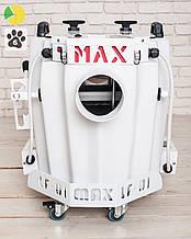 Генератор важкого диму / Генератор тяжелого низкого дыма SHOWplus LF-01 MAX (White Edition)