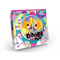 """Настольная развлекательная игра """"Doobl Imag"""", мини, Animals (укр.) - Danko Toys, фото 1"""