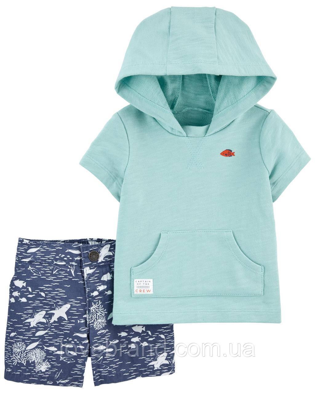 "Летний костюм картерс для малыша мальчика ""Море"" Carter's"