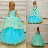Длинное нарядное блестящее платье Бетси, фото 8