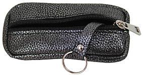 Чохол для ключів, шкіряна ключниця Always Wild 010-55-11 антрацит