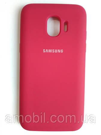 Чехол Silicone Case Samsung J2 PRO 2018 / J250F (red)