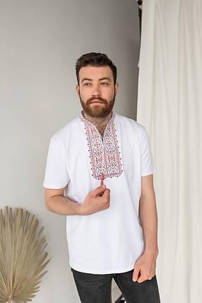"""Мужская футболка вышиванка """"Король Данило"""", фото 2"""