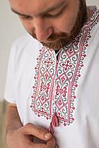 """Мужская футболка вышиванка """"Король Данило"""", фото 3"""