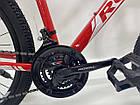 """Велосипед спортивний Royal 26-16"""" FOX червоний, фото 2"""