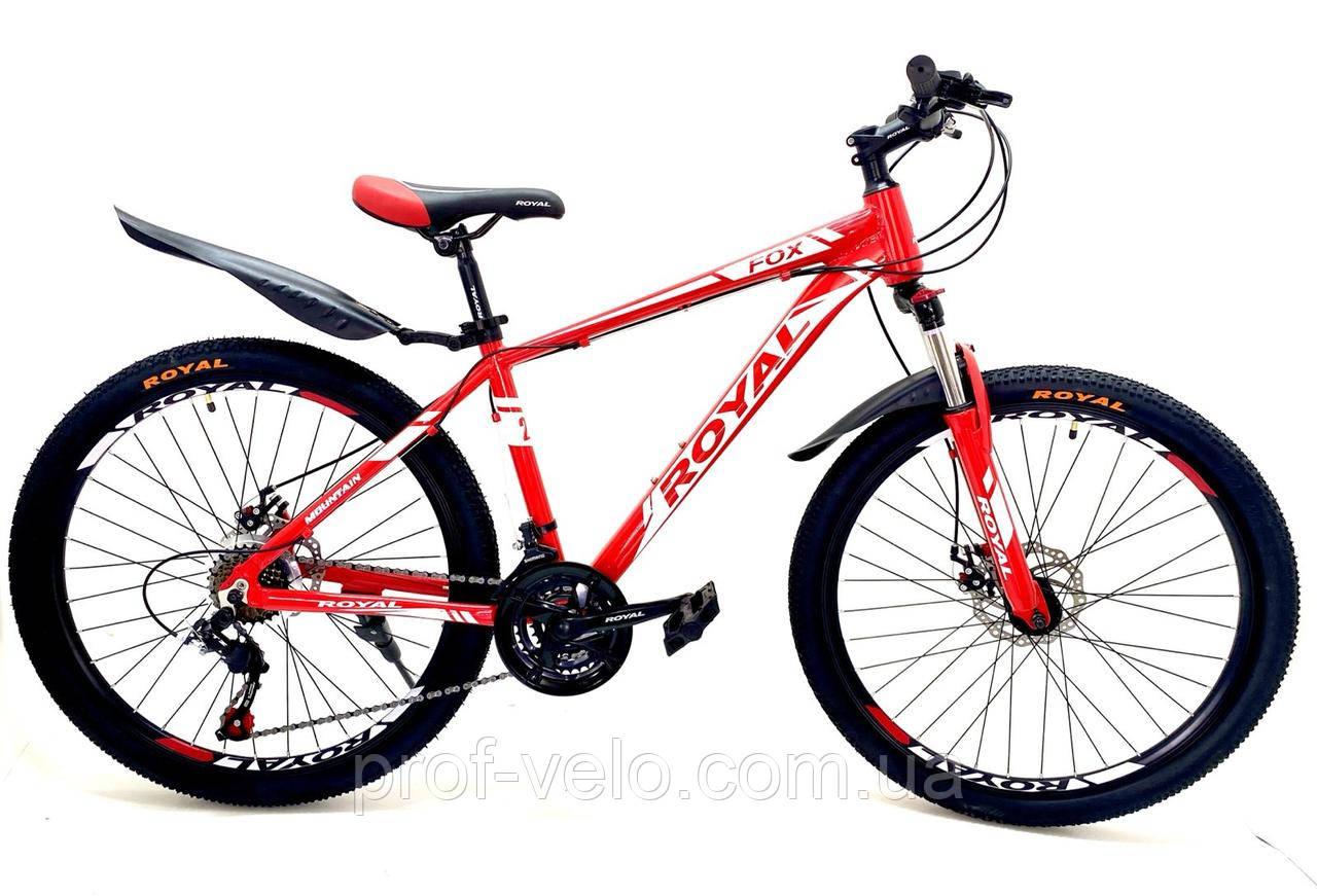 """Велосипед спортивний Royal 26-16"""" FOX червоний"""