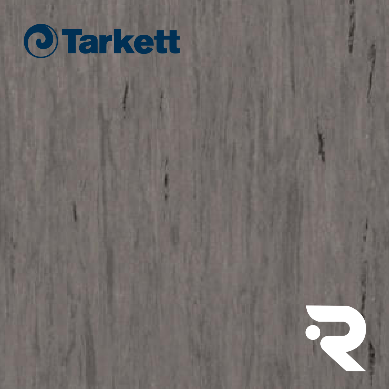 🏫 Гомогенный линолеум Tarkett | Standard BROWN GREY 0496 | Standard Plus 2.0 mm | 2 х 23 м