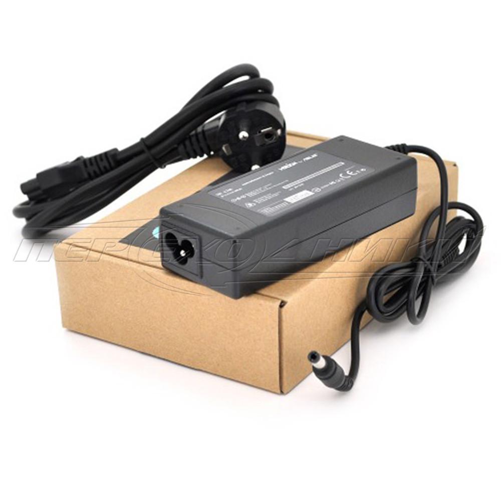 Блок питания  для ноутбука ASUS 19V 4.74А (90 Вт) штекер 5.5*2.5мм, длина 0,9м + кабель питания