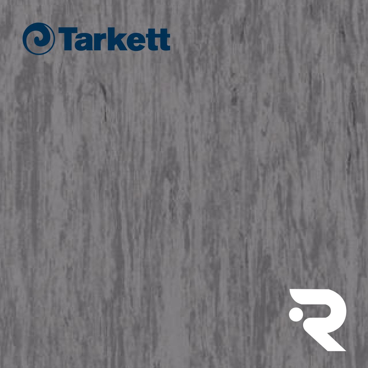 🏫 Гомогенний лінолеум Tarkett | Standard DARK STONE GREY 0499 | Standard Plus 2.0 mm | 2 х 23 м