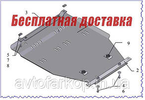 Захист двигуна Geely MK (2006-)(Захист двигуна Джилі МК) Кольчуга