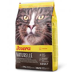 Корм Josera Naturelle Adult Sterilised Йозера Натюрель беззерновий для стерилізованих кішок 400 гр