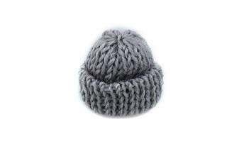 Мини шапочка для рукоделия, серая, 35х35мм