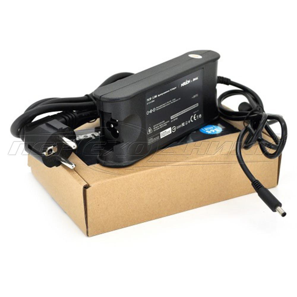 Блок питания  для ноутбука DELL 19.5V 3.34A (65 Вт) штекер 4.5*3.0 мм, длина 0,9м + кабель питания