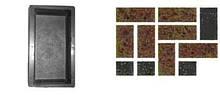 Форми для виробництва тротуарної плитки «Цегла – шагрень»