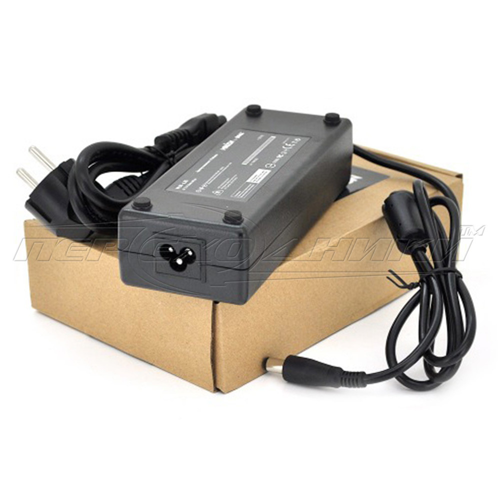 Блок питания для ноутбука DELL SLIM 19.5V 4.62A (90 Вт) штекер 7.4*5.0 мм, длина 0,9м + кабель питания